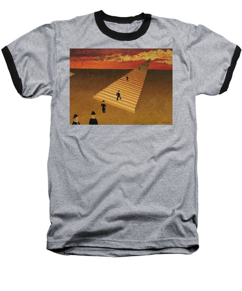 Stairway To Heaven Baseball T-Shirt by Thomas Blood