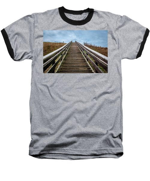 Stairway To The Sky Baseball T-Shirt