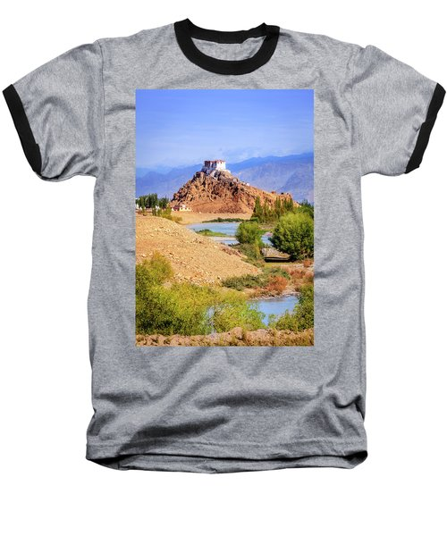 Baseball T-Shirt featuring the photograph Stakna Monastery by Alexey Stiop