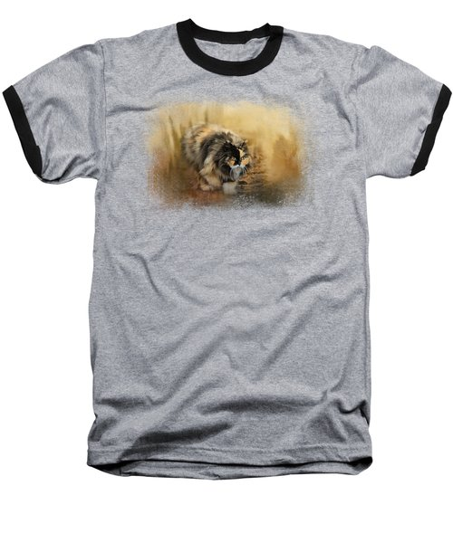 Stalking Autumn Baseball T-Shirt