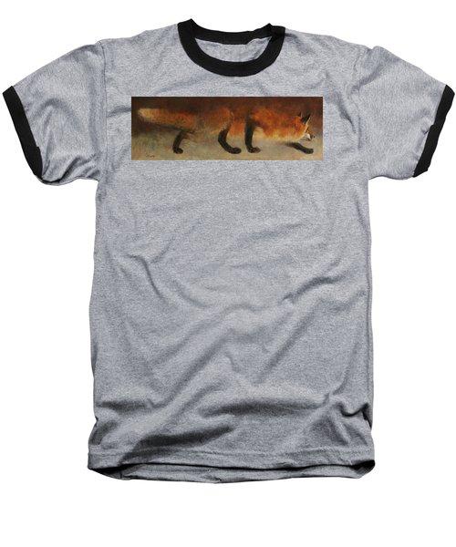 Stalking Fox Baseball T-Shirt