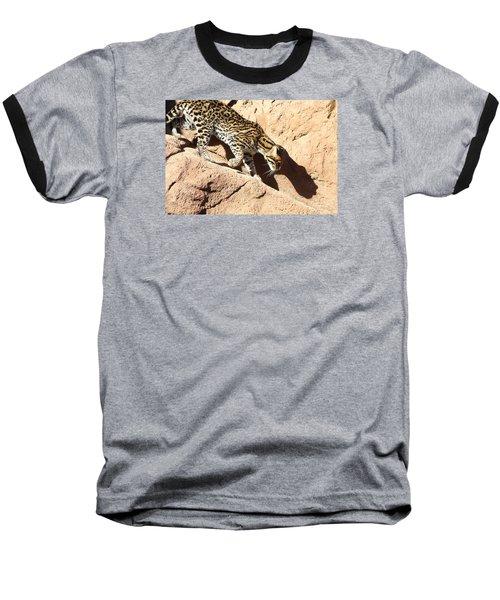 Stalking Ocelot Baseball T-Shirt