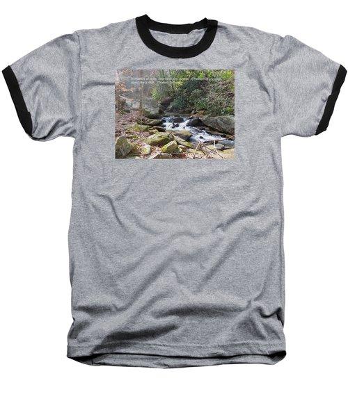 Stand Like A Rock Baseball T-Shirt by Deborah Dendler