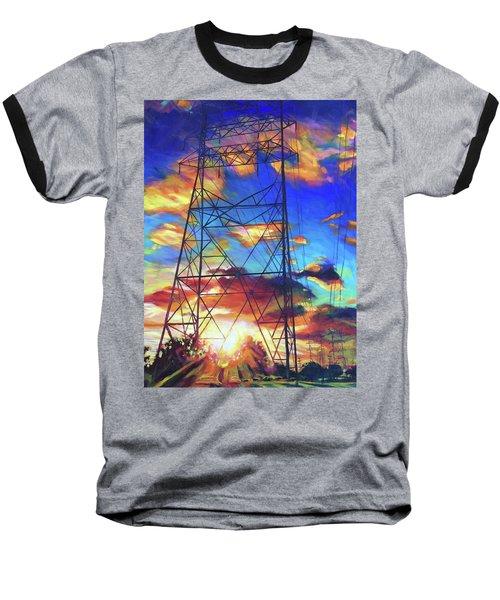 Stand Tall Baseball T-Shirt by Bonnie Lambert