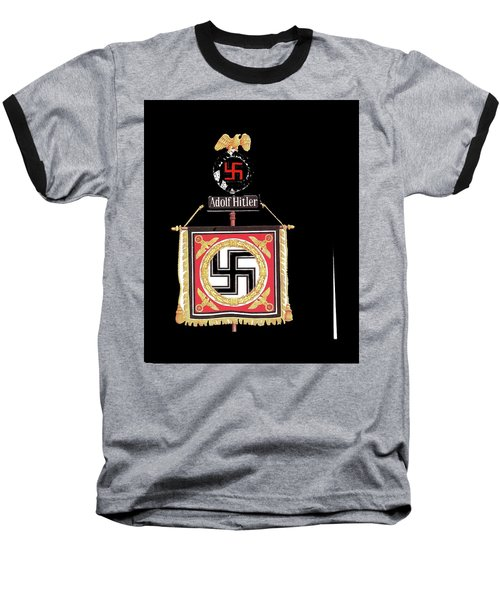 Standard Of The Leibstandarte Adolf Hitler Circa 1935  Baseball T-Shirt