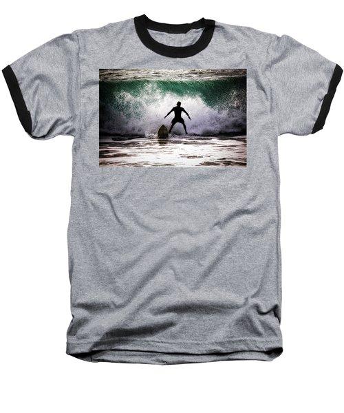 Standby Surfer Baseball T-Shirt