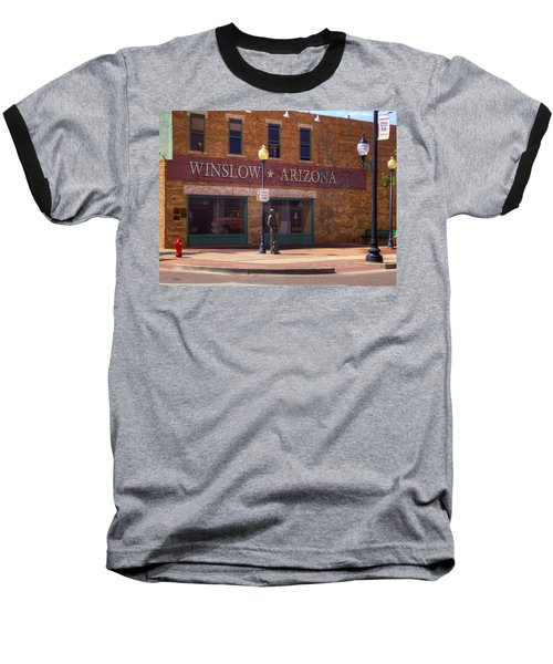 Standin On A Corner Baseball T-Shirt
