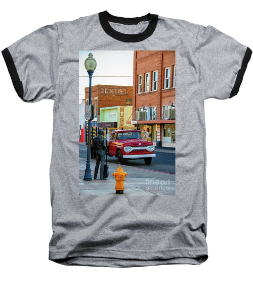Standin On The Corner Park Baseball T-Shirt
