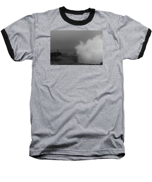 Standing Against Nature Baseball T-Shirt