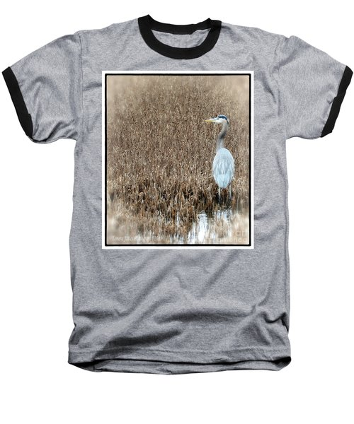 Baseball T-Shirt featuring the photograph Standing Alone by Tamera James