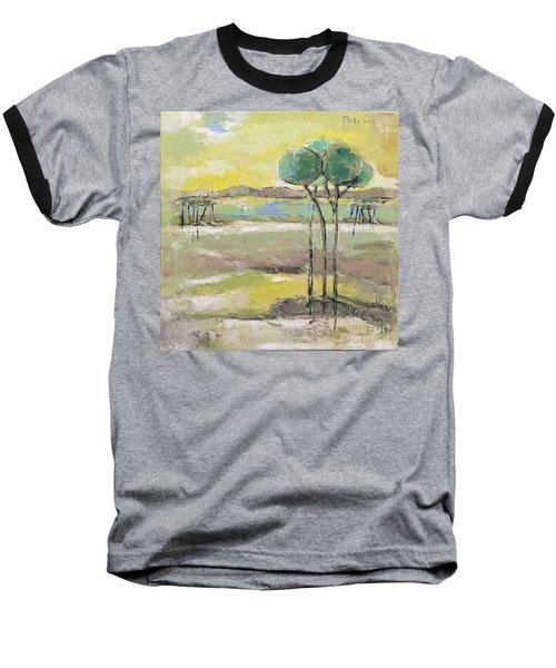 Standing In Distance Baseball T-Shirt