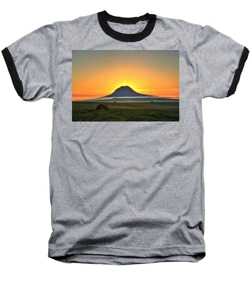 Standing In The Shadow Baseball T-Shirt