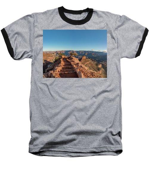 Standing On Top Baseball T-Shirt