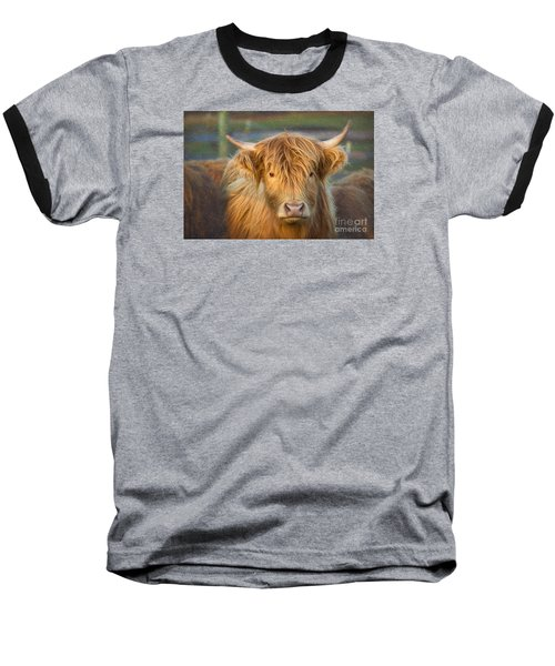 Standing Out In The Herd Baseball T-Shirt