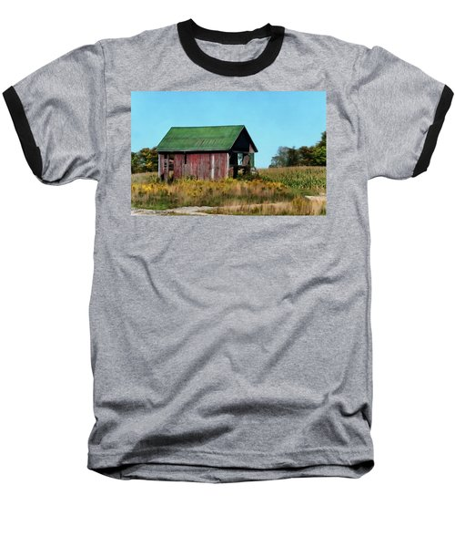 Standing Silent Baseball T-Shirt