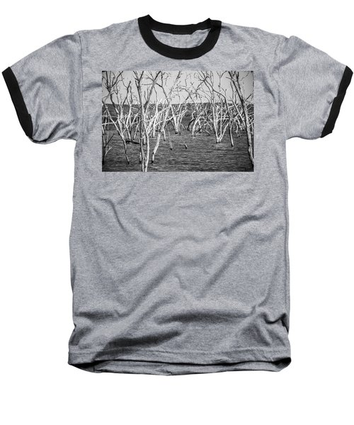Standing Still Baseball T-Shirt