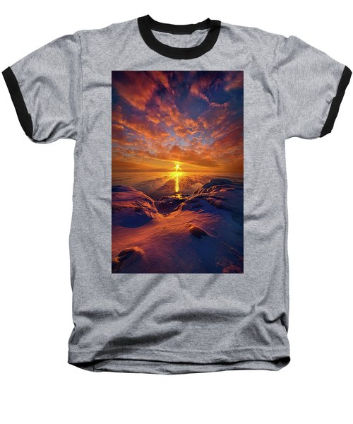Baseball T-Shirt featuring the photograph Standing Stilled by Phil Koch