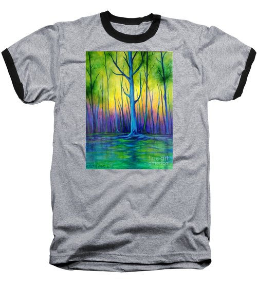 Baseball T-Shirt featuring the painting Standing Tall  by Alison Caltrider