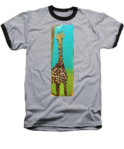 Standing Tall Baseball T-Shirt by Ann Michelle Swadener