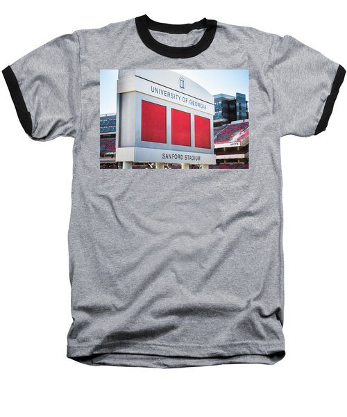 Baseball T-Shirt featuring the photograph Standing Tall Over Sanford Stadium  by Parker Cunningham
