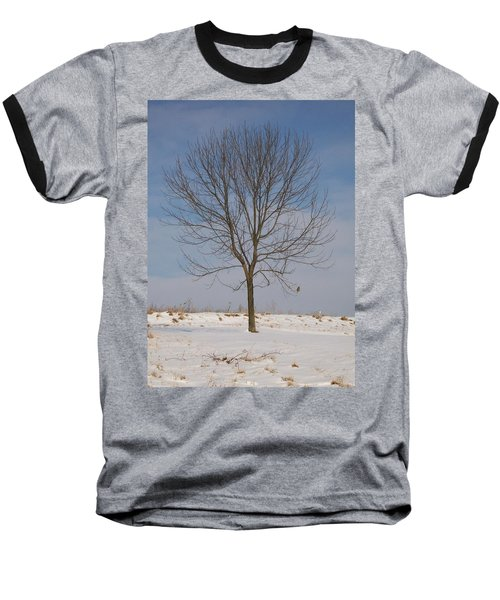 Baseball T-Shirt featuring the photograph Standing Tall by Sara  Raber