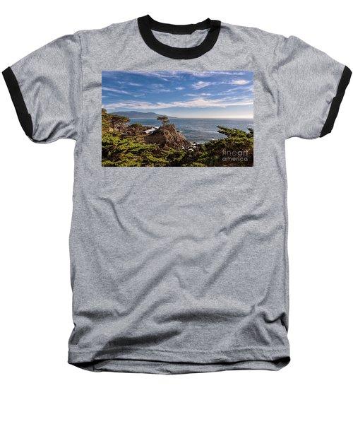 Standing Watch Baseball T-Shirt by Gina Savage