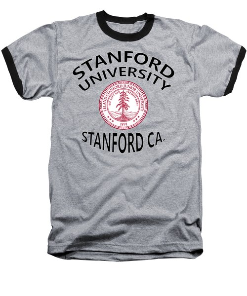 Stanford University Stanford California  Baseball T-Shirt by Movie Poster Prints
