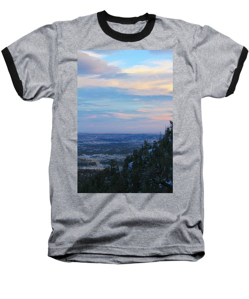 Stanley Canyon Hike Baseball T-Shirt by Christin Brodie