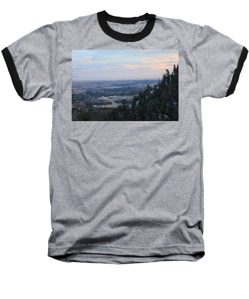 Stanley Canyon View Baseball T-Shirt by Christin Brodie