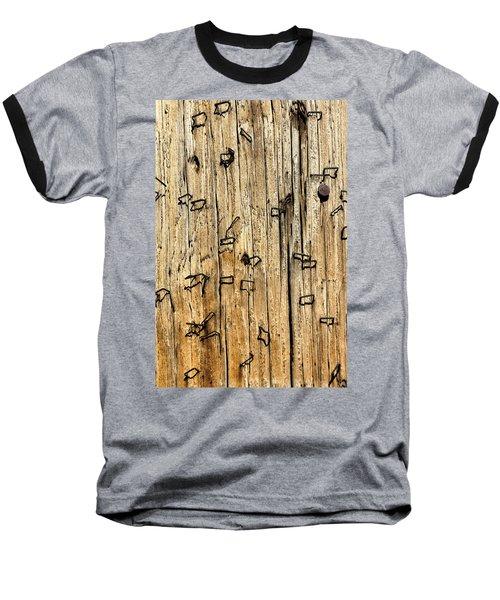 Stapled Baseball T-Shirt