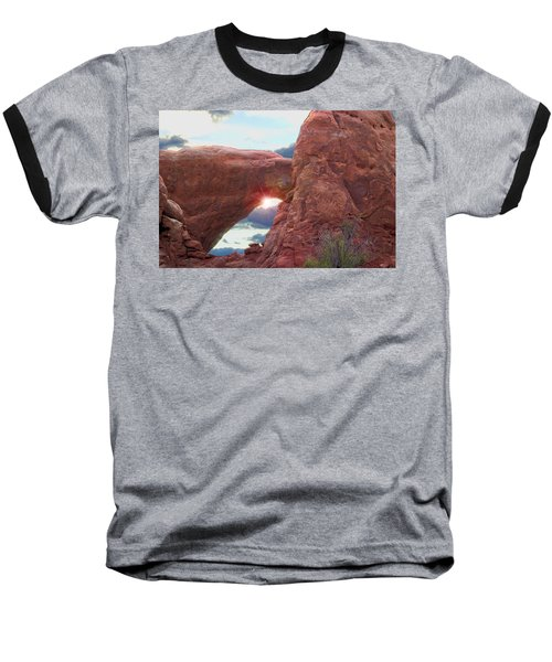 Baseball T-Shirt featuring the digital art Star Arch by Gary Baird