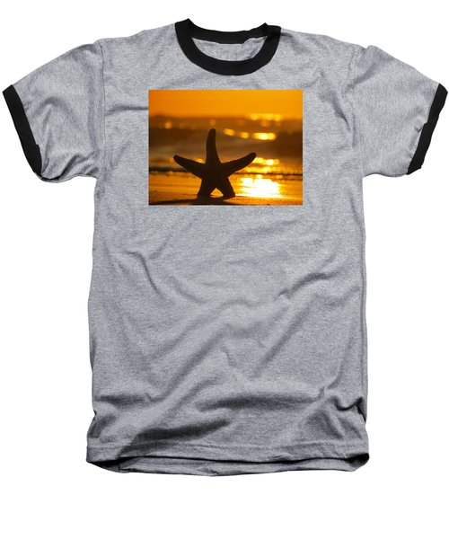 Baseball T-Shirt featuring the photograph Star Bokeh by Nikki McInnes