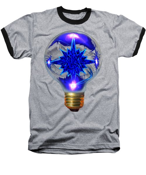 Baseball T-Shirt featuring the photograph Star Bright by Shane Bechler