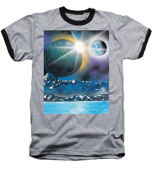 Star Burst Baseball T-Shirt