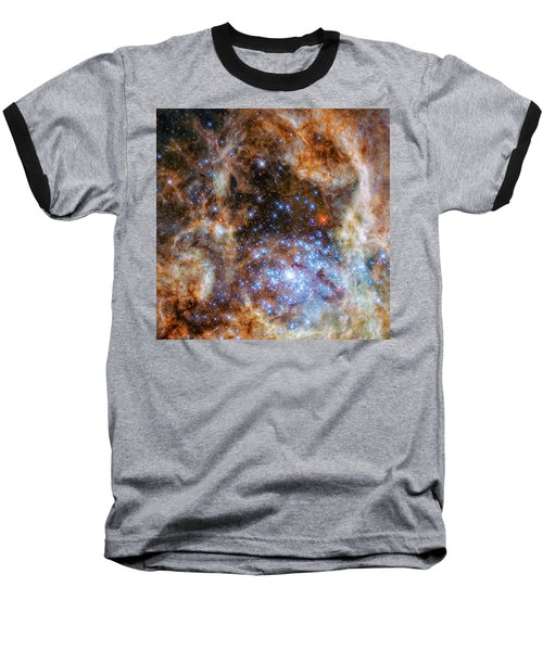 Baseball T-Shirt featuring the photograph Star Cluster R136 by Marco Oliveira