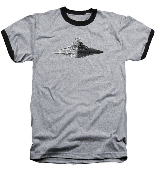Star Destroyer Baseball T-Shirt by Ian King