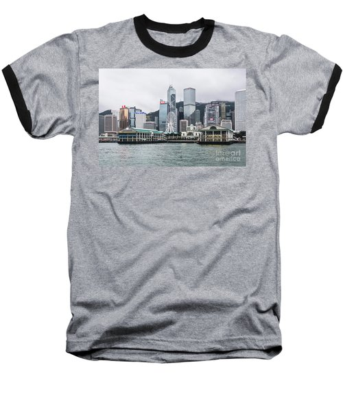 Star Ferry Building Terminal In The Central Business District Of Baseball T-Shirt