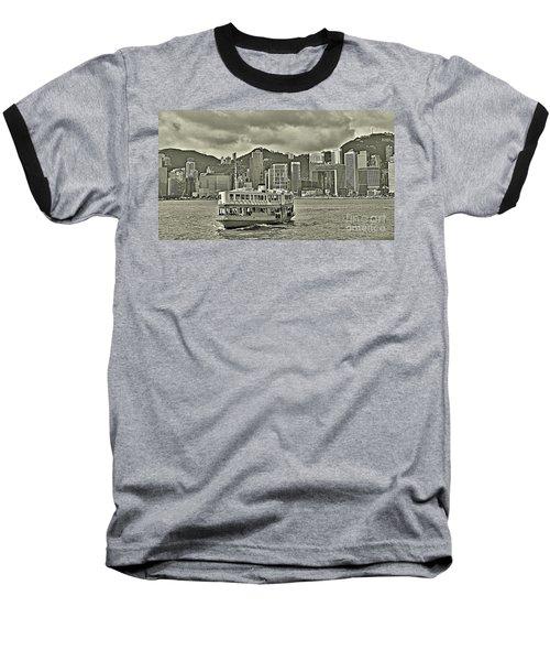 Star Ferry In Hong Kong Baseball T-Shirt