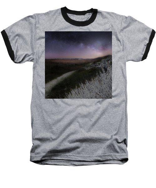 Baseball T-Shirt featuring the photograph Star Flowers Square by Bill Wakeley