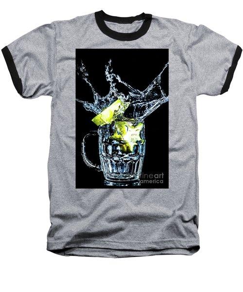Baseball T-Shirt featuring the photograph Star Fruit Splash by Ray Shiu