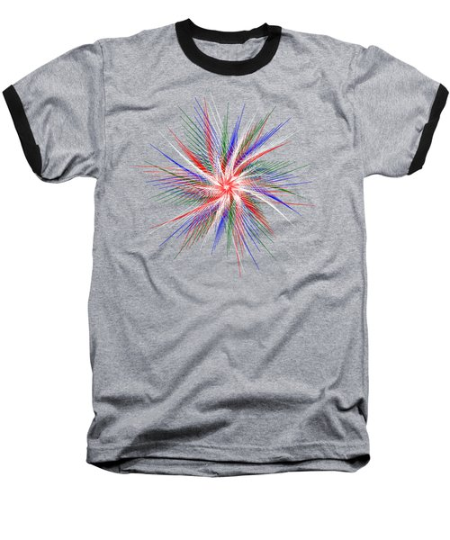 Star In Motion By Kaye Menner Baseball T-Shirt
