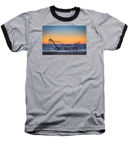 Star Jet Roller Coaster Ride  Baseball T-Shirt
