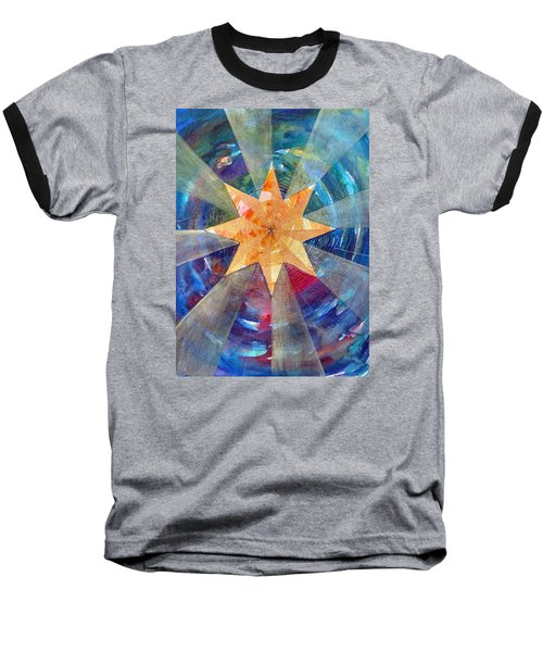 Star Mandala 1  Baseball T-Shirt
