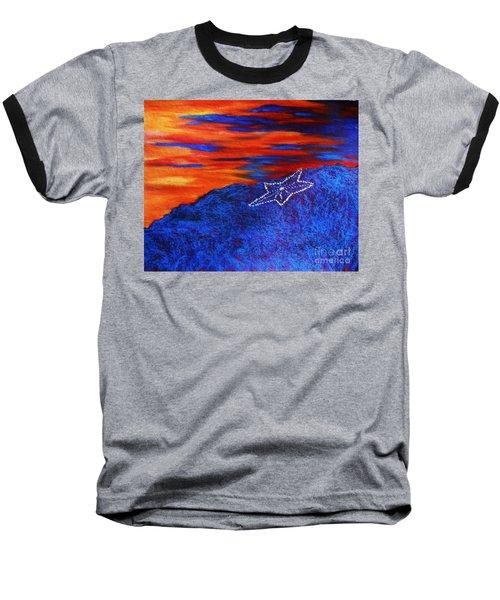Star On The Mountain Baseball T-Shirt