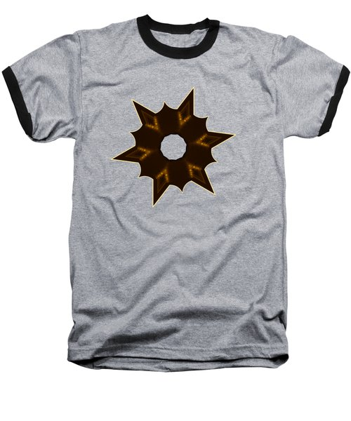 Star Record No. 2 Baseball T-Shirt by Stephanie Brock