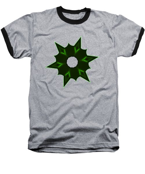 Star Record No. 4 Baseball T-Shirt by Stephanie Brock