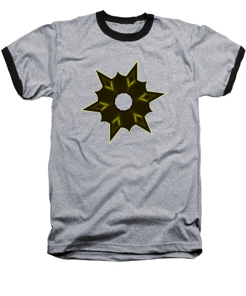 Star Record No. 5 Baseball T-Shirt by Stephanie Brock
