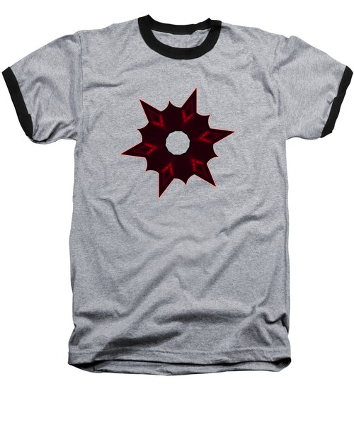 Star Record No. 6 Baseball T-Shirt by Stephanie Brock