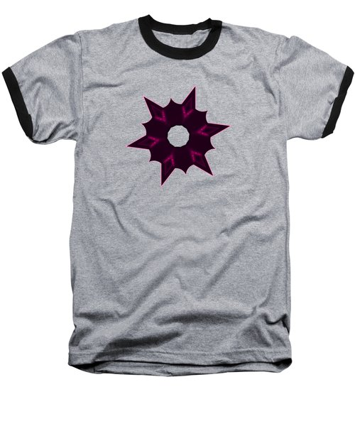 Star Record No. 7 Baseball T-Shirt by Stephanie Brock