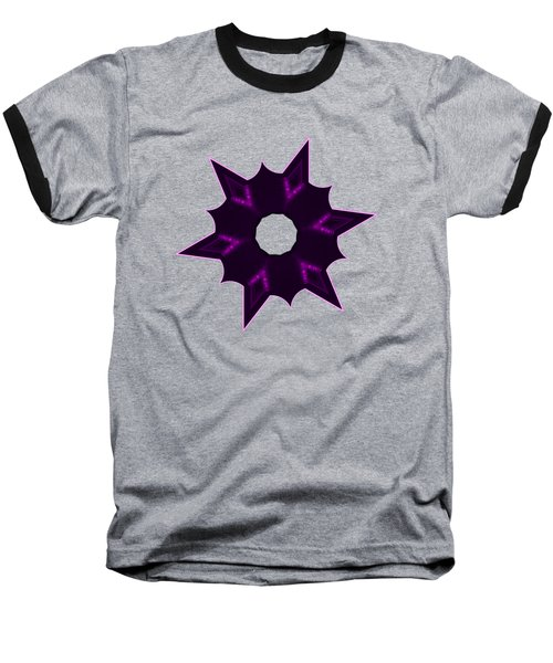 Star Record No. 8 Baseball T-Shirt by Stephanie Brock